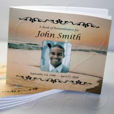 memorial guest book memorial guestbook sunset fast funeral printing
