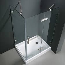 40 Shower Door Vigo Monteray 32 X 40 In Frameless Shower Enclosure With 375 In