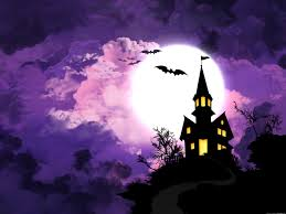 the halloween tree background halloween background psdgraphics