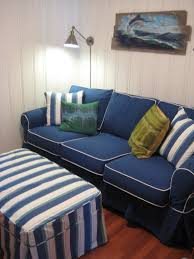 Navy Couch Decorating Ideas Awesome Navy Striped Sofa Cool Home Design Amazing Simple In Navy