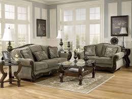 traditional sofas with wood trim norwich traditional wood trim fabric sofa couch loveseat set