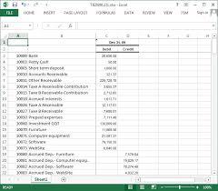 excel fsm trial balance data financial statement masters