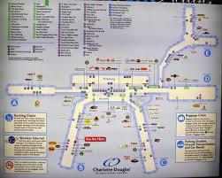 Ohare Airport Map Charlotte Airport Gate Map Charlotte Charlotte Douglas