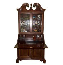 Queen Anne Style by Queen Anne Style Secretary Desk Ebth