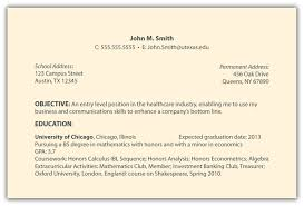 What Is On A Resume What Is The Objective Section On A Resume Resume For Your Job