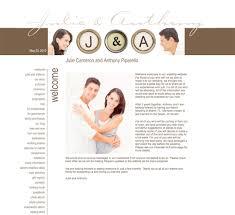 Wedding Websites Personalized Wedding Websites From Wedding Window