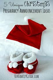 christmas pregnancy announcement 5 unique christmas pregnancy announcement ideas