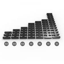 cable combs cable comb bumper packs e22