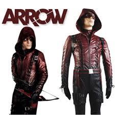 Red Coat Halloween Costume Deluxe Green Arrow Season 3 Red Arrow Roy Harper Cosplay Costume