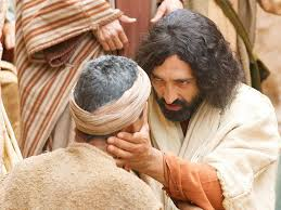 Blind Bartimaeus In The Bible Free Bible Images A Blind Man Healed By Jesus Is Questioned By