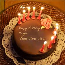 online birthday cake write your nick name on happy birthday cakes online