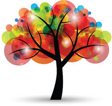 creative colorful tree design elements vector 04 vector plant