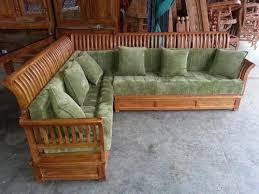 wooden corner sofa set living roomz teakwood wooden corner sofa rs 28000 set living