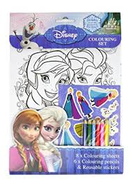 disney frozen colouring amazon uk clothing