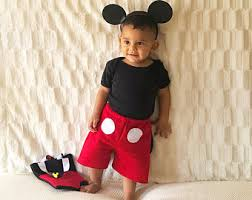 Etsy Baby Boy Halloween Costumes Mickey Mouse Costume Etsy