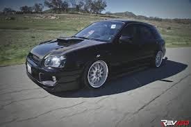 subaru wagon stance car feature boosted u0026 bagged subaru wrx show wagon revved