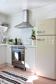 House Kitchen Interior Design by Marias Vita Bo Cute Cottage Kitchen With A White Smeg