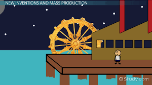 the industrial revolution in america inventions u0026 effects video