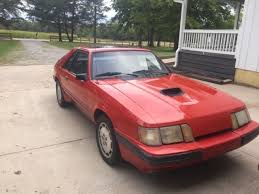 1985 mustang svo ford mustang svo 1985 for sale in morrow ohio united states