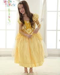 Halloween Costumes Beauty Beast Aliexpress Buy Princess Belle Costume Beauty Beast