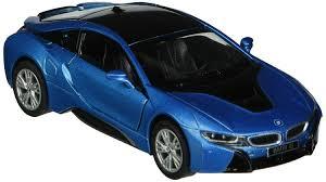 Bmw I8 Black And Blue - amazon com kinsmart bmw i8 1 36 scale super car blue toys u0026 games