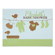 welcome home baby shower welcome home baby posters zazzle