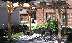 Backyard Arbors Backyard Pergola Add Value And Aesthetics To Your Home