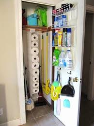 Broom Closet Cabinet 25 Kitchen Organization Ideas Hacks A Blissful Nest