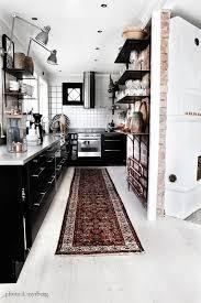 What Is A Galley Kitchen - best 25 black white kitchens ideas on pinterest modern kitchen