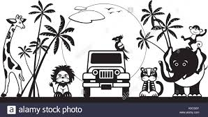 safari jeep cartoon sport utility vehicles stock photos u0026 sport utility vehicles stock