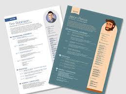 fancy resume templates 25 beautiful free resume templates 2018 dovethemes