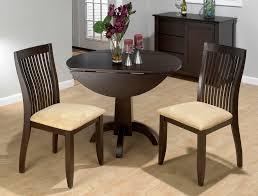 dark wood drop leaf table jofran dark chianti double drop leaf table 845 40t 40b