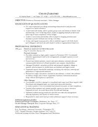 Sample Resume Personal Objectives by Care Assistant Cv Template Sample Resume For Personal Assistant