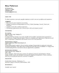 accounts payable resume exles accounting resume exles and career advice