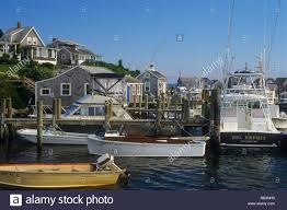 martha s vineyard martha u0027s vineyard ma boats in menemsha harbor stock photo