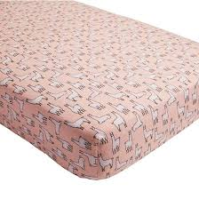 Flannel Crib Bedding Llama A Rama Flannel Crib Fitted Sheet Maybe Not Coral Colored