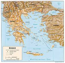 Ithaca Greece Map by Greek Islands History And Geography Experience Plus