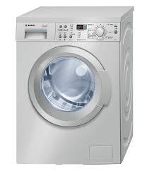 bosch front u003cbr u003e loader washing machine silver u003cbr u003emodel