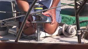 installing an electric windlass youtube