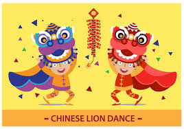 lion dancer book lion free vector stock graphics images