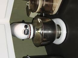 Used Kitchen Aid Mixer out with the old kitchenaid mixer and in with the new