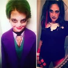 joker and harley quinn mother son halloween costume women u0027s