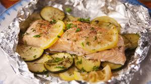 best lemon butter salmon foil packs how to make lemon butter