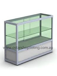 glass counter display cabinet glass cabinet shop counter display showcase jewellery hobby