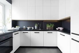 cuisine mur noir deco cuisine noir et gris 5 2 blanc mur fonc233 chaios 800