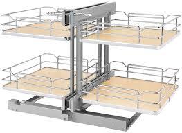 organizer for corner kitchen cabinet rev a shelf 53psp 18sc
