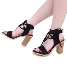 gamiss women u0027s summer shoes thick heel sandals one word t shape