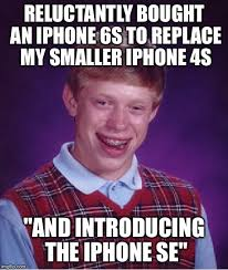 Iphone 4s Meme - bad luck brian meme imgflip