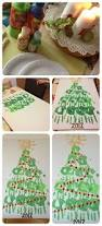 make a handprint christmas tree christmas lights decoration