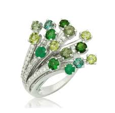 color stones rings images Multi color stone spray ring buy in bang rak png